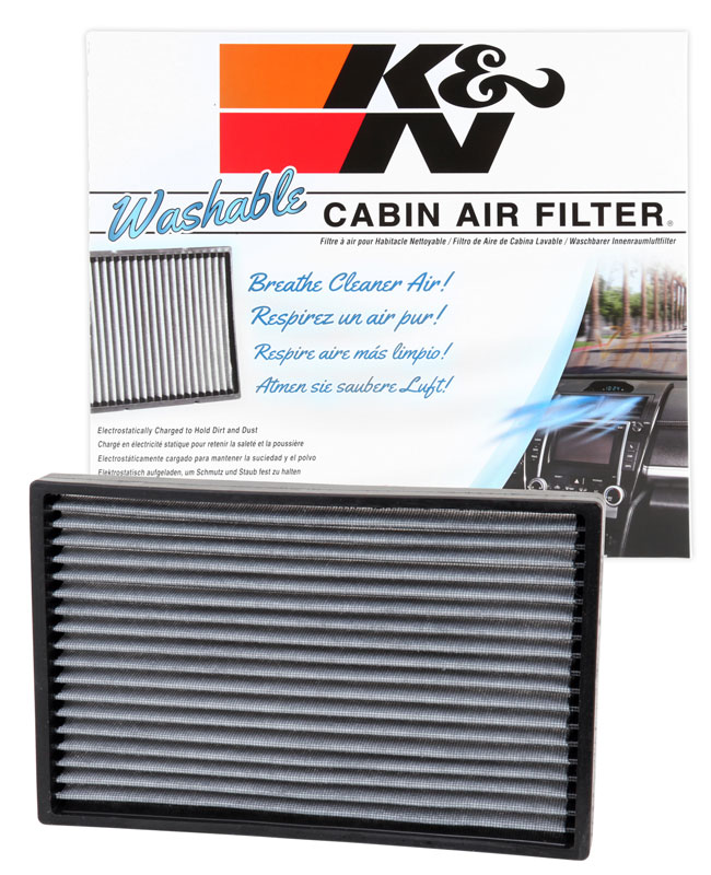 Buick K/&N VF3000 Washable /& Reusable Cabin Air Filter Cleans and Freshens Incoming Air for your Chevrolet