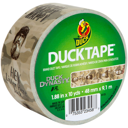 "Duck Brand Duct Tape, 1.88"" x 10 yard, Duck Dynasty"