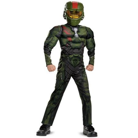 Halo Wars 2: Jerome Classic Muscle Teen Costume (Halo Boy)