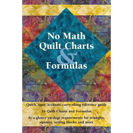 No Math Quilt Charts &