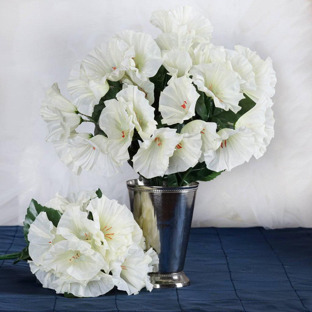 Efavormart 168 pcs Artificial PETUNIA Flowers for Wedding Decor - 12 bushes
