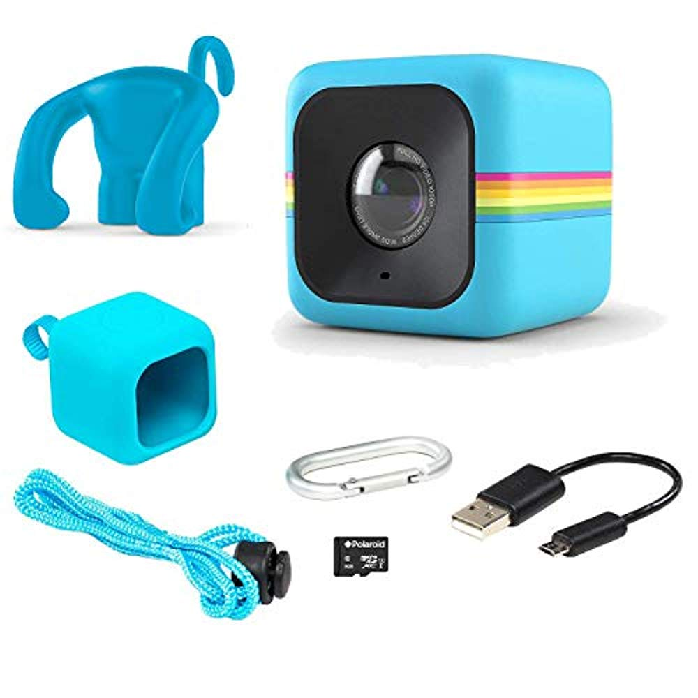 Polaroid Cube Act II – HD 1080p Mountable Weather-Resistant Lifestyle Action Video Camera & 6MP Still Camera w/ Image Stabilization, Sound Recording, Low Light Capability & Other Updated Features - image 2 de 6