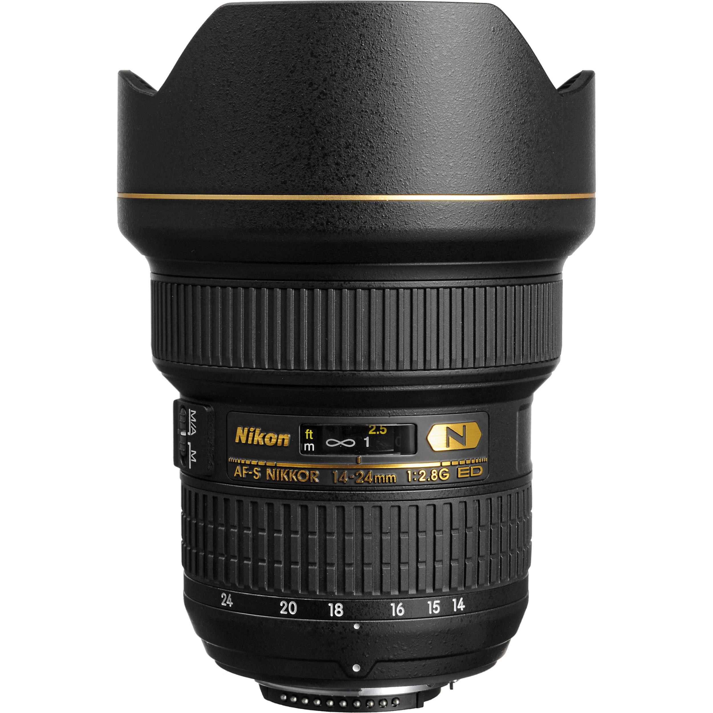 Nikon Nikkor AF-S 14-24mm f 2.8 G ED Zoom Lens (Black) Imported Version by Nikon
