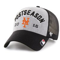 New York Mets '47 2016 Postseason Tamarac Locker Room Adjustable Hat - Gray - OSFA