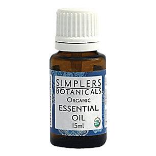 Essential Oil Vetiver Organic Simplers Botanicals 5 ml Liquid