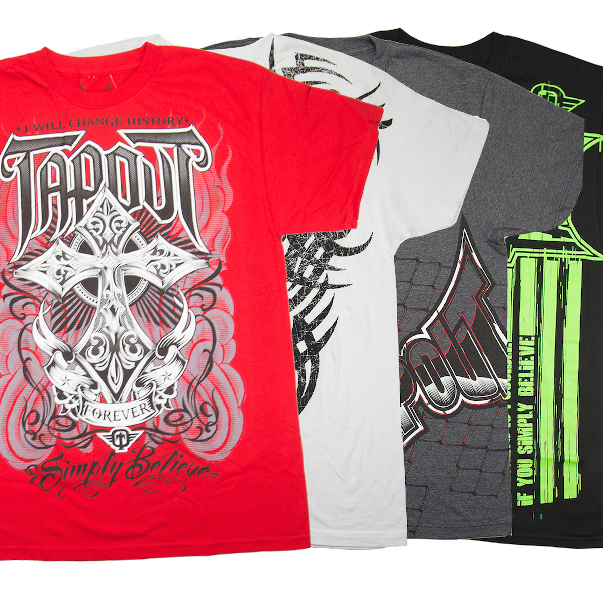 Tapout T-Shirts UFC MMA Tap Out Mixed Martial Arts 100% Cotton Graphic Tees