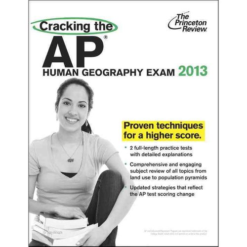 The Princeton Review Cracking the AP Human Geography Exam