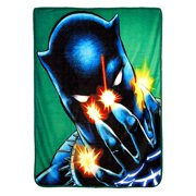 """Black Panther,Power of Claws Micro Raschel Throw Blanket, 46"""" x 60"""""""