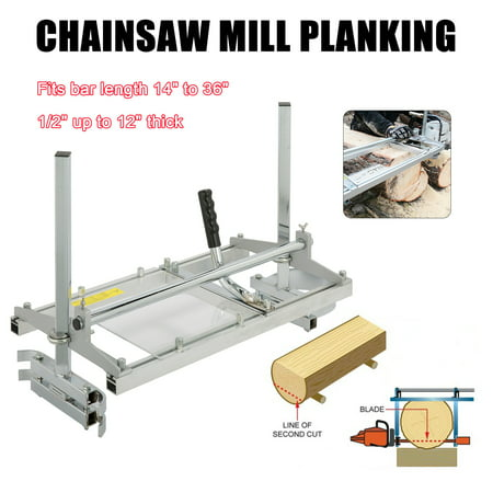 Portable Chainsaw Mill Planking Milling 14