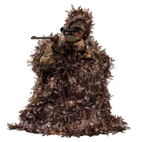 Ameristep 3D Leafy Poncho Realtree Xtra SKU: 4RXM023 with Elite Tactical Cloth by Ameristep