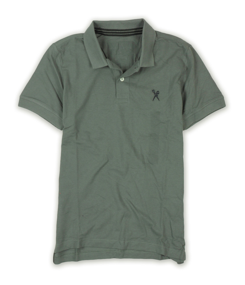 Rock /& Republic Mens Military Rugby Polo Shirt
