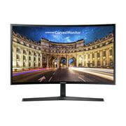 """SAMSUNG 27"""" Class Curved 1920x1080 VGA HDMI 60hz 4ms AMD FREESYNC HD LED Monitor - LC27F396FHNXZA"""