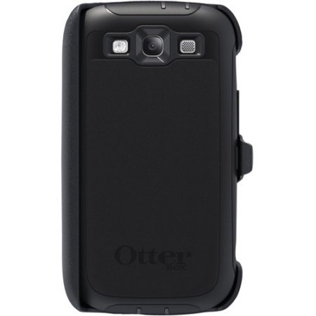 size 40 1ddf0 d617a OtterBox Defender Case for Samsung Galaxy S3 - Black/Black