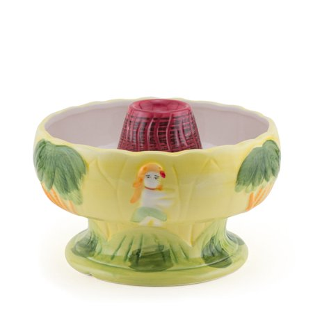 Big Volcano Ceramic Tiki Drink Bowl - 48 oz (Ceramic Big Bowl)
