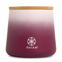 Gaiam Scented Jar Candle, Enlightenment - Soy Wax Blend, 1-Wick, Lead-Free Cotton Wick, USA - 14 oz, single