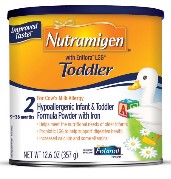 Nutramigen Toddler with Enflora LGG Hypoallergenic Formula - Powder, 12.6 oz Can