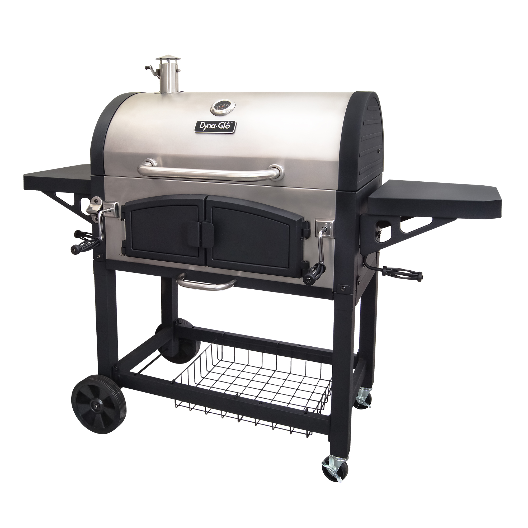 Dyna-Glo DGN576SNC-D X-Large Premium Dual Chamber Charcoal Grill