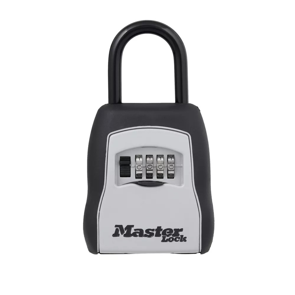 $13.05 (Reg $39.63) Master Lock 5400D Set Your Own Combination Portable Lock Box