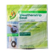 Duck Brand Extra Large Gap Foam Weather Stripping Seal