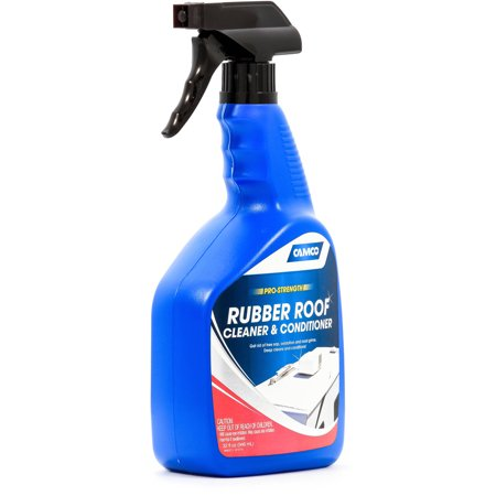 Camco Pro Strength Rv Rubber Roof Cleaner 32 Oz Walmart Com