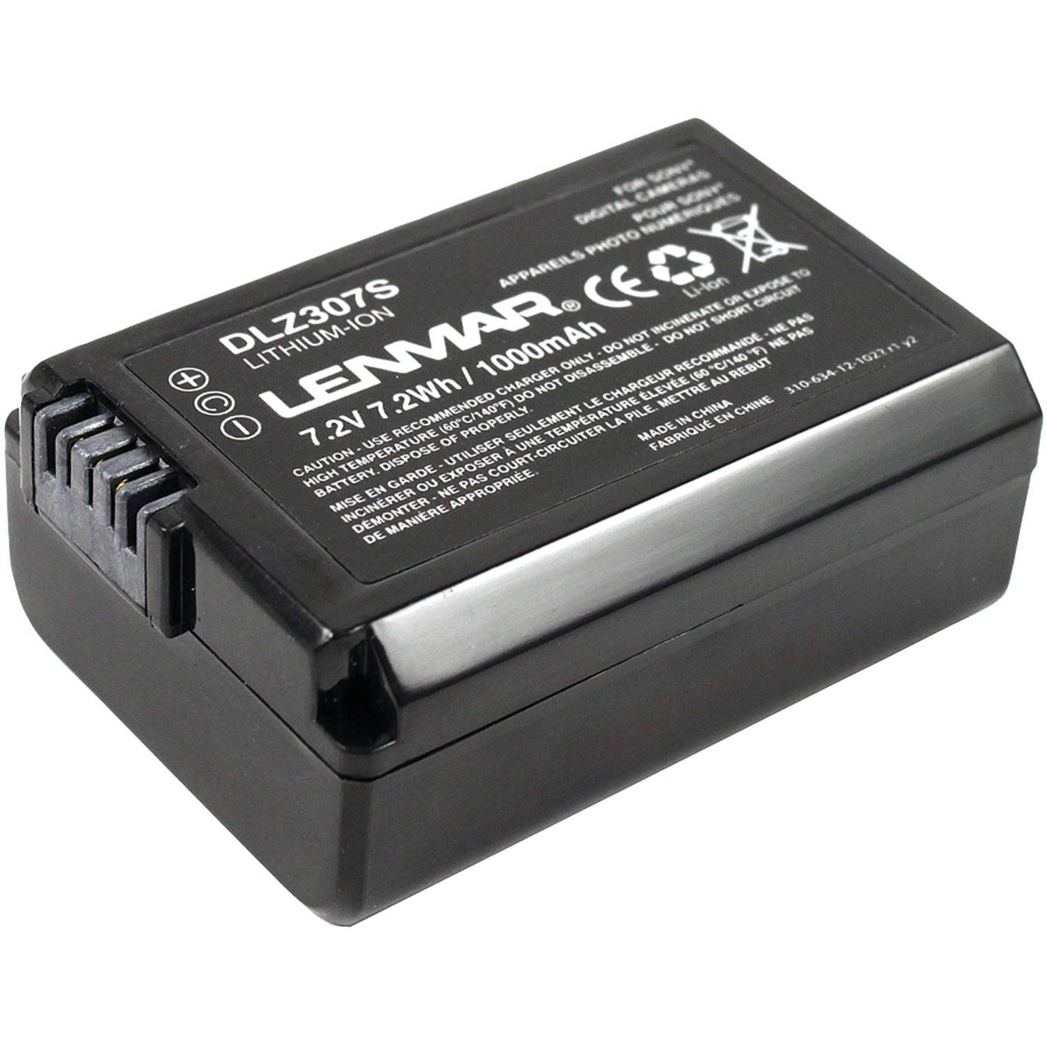 Lenmar DLZ307S Sony NP-FW50 Replacement Battery