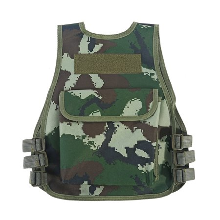 Awaymmer Hot Children Kids Camouflage Vest with Multi Pouches for Outdoor Combat Hunting Games, Kid Combat Vest,Children Camouflage Vest thumbnail