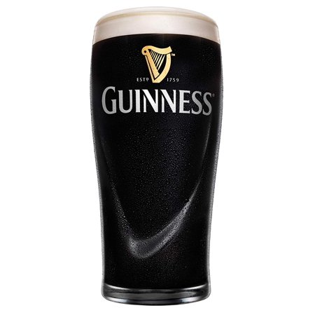 Guinness 20oz Gravity Pint Glass - 4 Pack - Clear