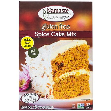 Namaste Foods Gluten Free Spice Cake Mix, 26 oz