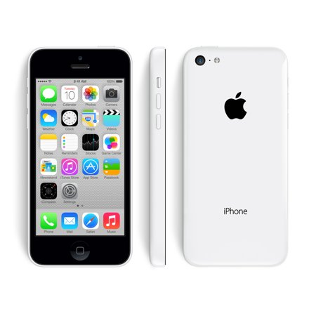 Apple iPhone 5C 16GB Factory Unlocked GSM Cell Phone - White (Refurbished)