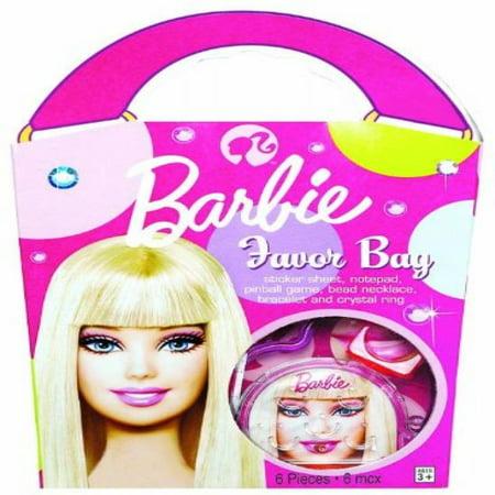 Barbie All Dolled Up Favor Bag - Each - Barbie Party Favors