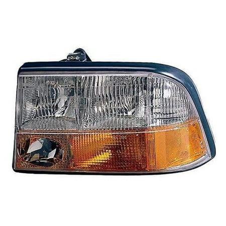 Go Parts 1998 2004 Gmc Sonoma Front Headlight Headlamp Embly Housing