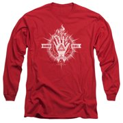 Constantine Damed To Hell Mens Long Sleeve Shirt