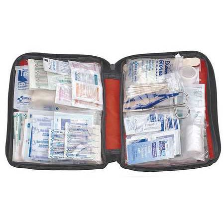 First Aid Only Fao 452Gr First Aid Kit Fabric 187 Pieces G1825997