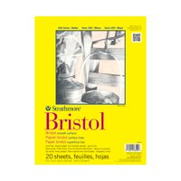 "Strathmore Bristol Paper Pad, 300 Series, Smooth, 11"" x 14"""