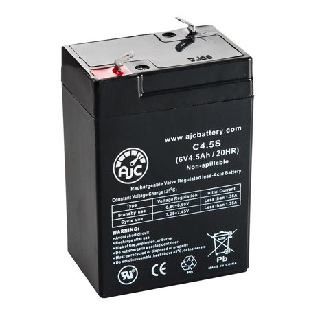 Lightalarms UXE8A 6V 4.5Ah Alarm Battery - This is an AJC Brand Replacement - image 5 of 5