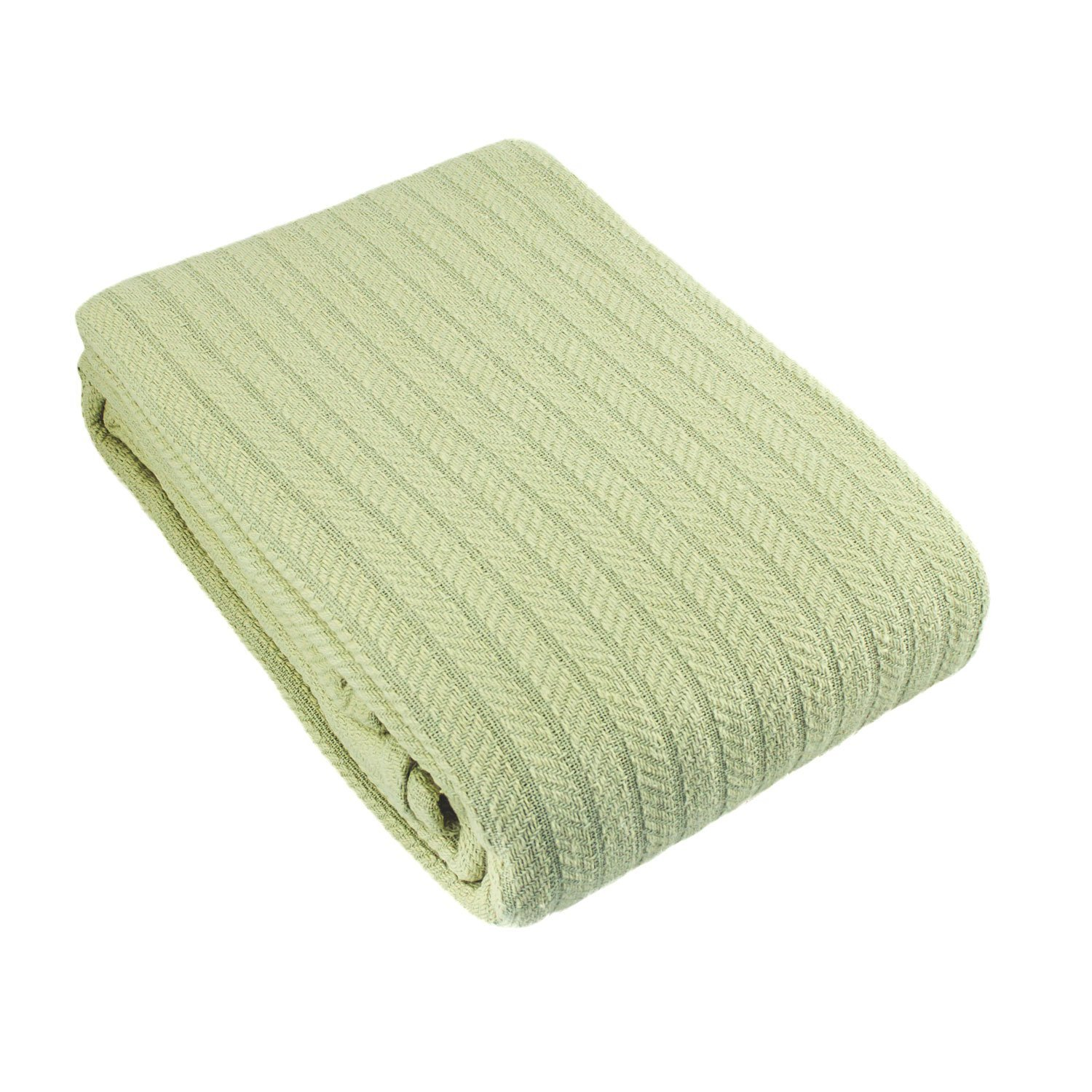 Cotton Cable Woven Blanket
