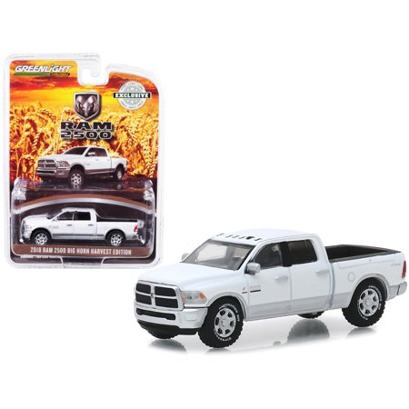 2018 Dodge Ram 2500 Big Horn Pickup Truck Bright White and Silver