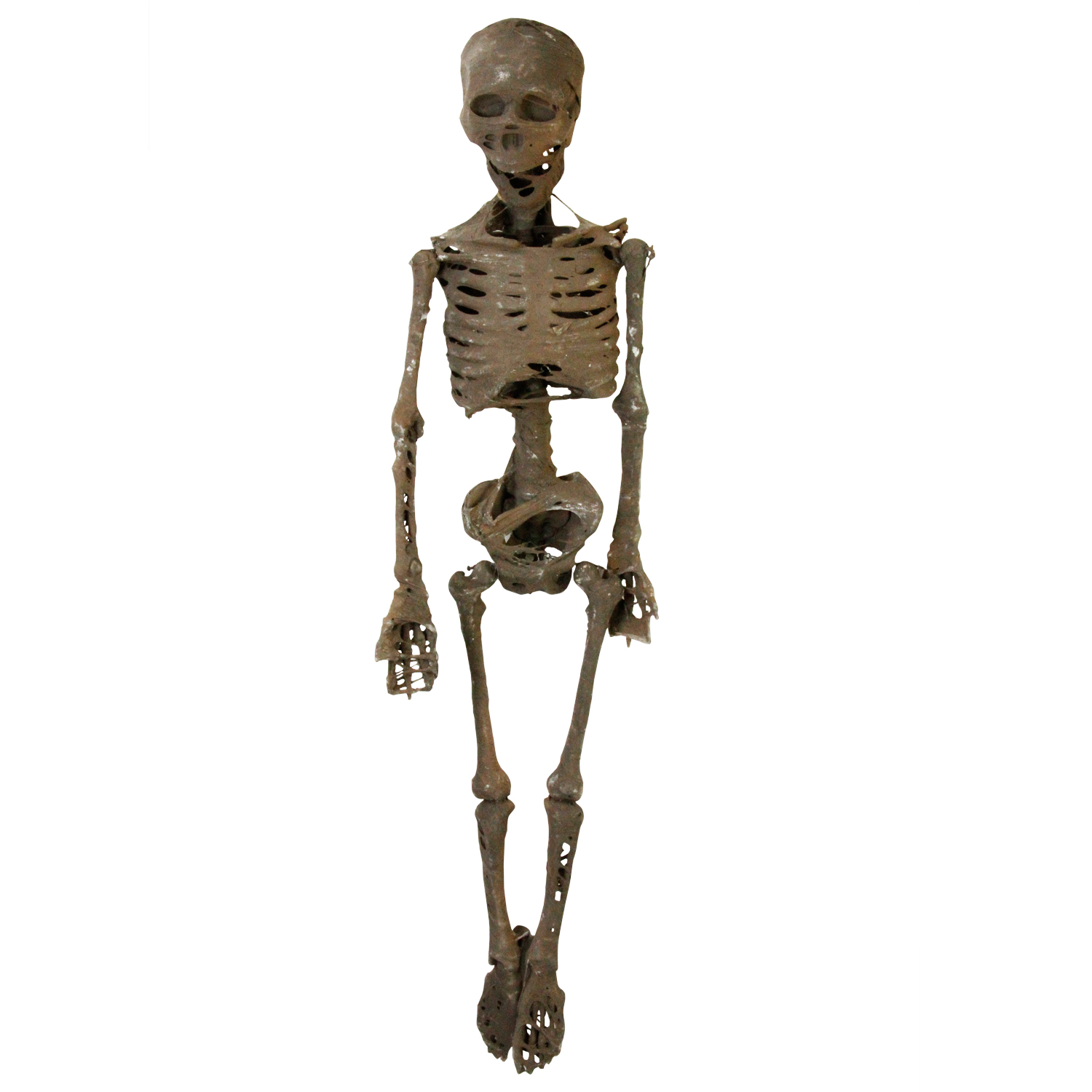 HALLOWEEN HANGING SKELETON 5/' HALLOWEEN DECORATION JOINTED WALL WINDOW ROOM PROP