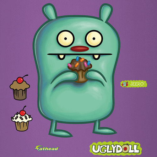 Fathead Ugly Doll Jeero Peel and Stick Wall Decal