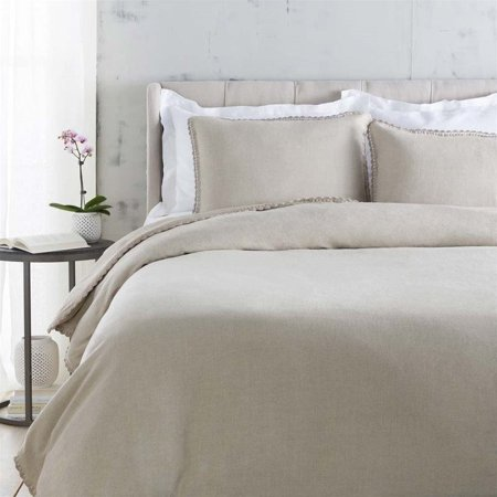 Evelyn Naturals (Surya Evelyn Woven Linen Full Queen Duvet in Natural )