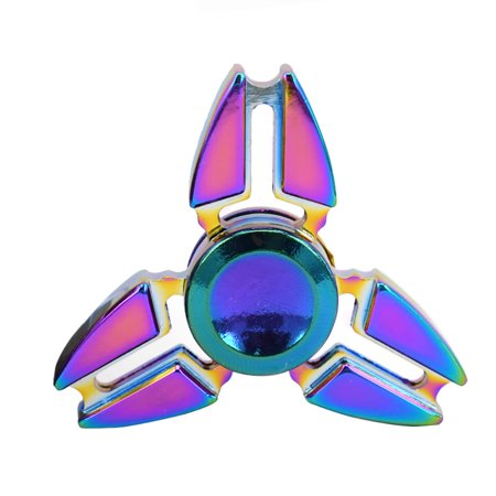 Edc Fidget Hand Spinner Alloy Finger Desk Toy Focus Adhd Autism Adult Kid Gift