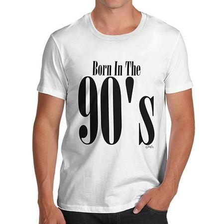 Men's T-Shirt Born In The 90s Novelty T Shirt Christmas for $<!---->