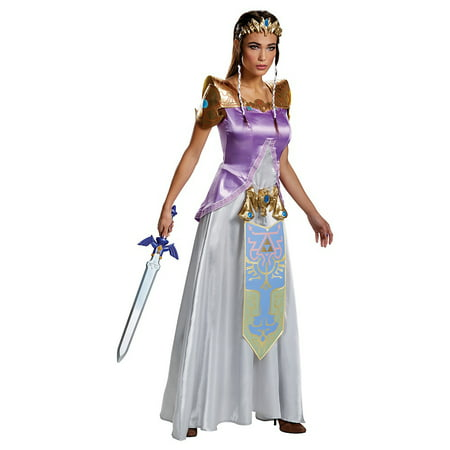Zelda Deluxe Adult Costume - X-Small