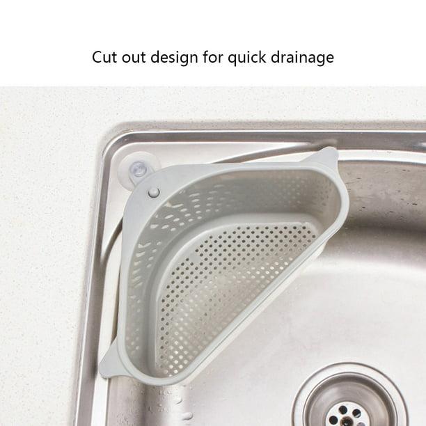 Robot Gxg Kitchen Sink Basket Kitchen Sink Sponge Basket Triangle Storage Basket Kitchen Triangle Sink Filter Corner Sink Drain Strainer Basket Multi Function Triangle Storage Rack For Kitchen Walmart Com