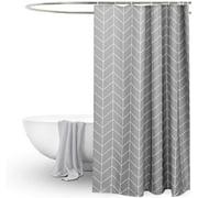 Shower Curtain Bathroom Fabric Fall Curtains Waterproof 71 x 71 Inches Decorative Bathroom Curtain