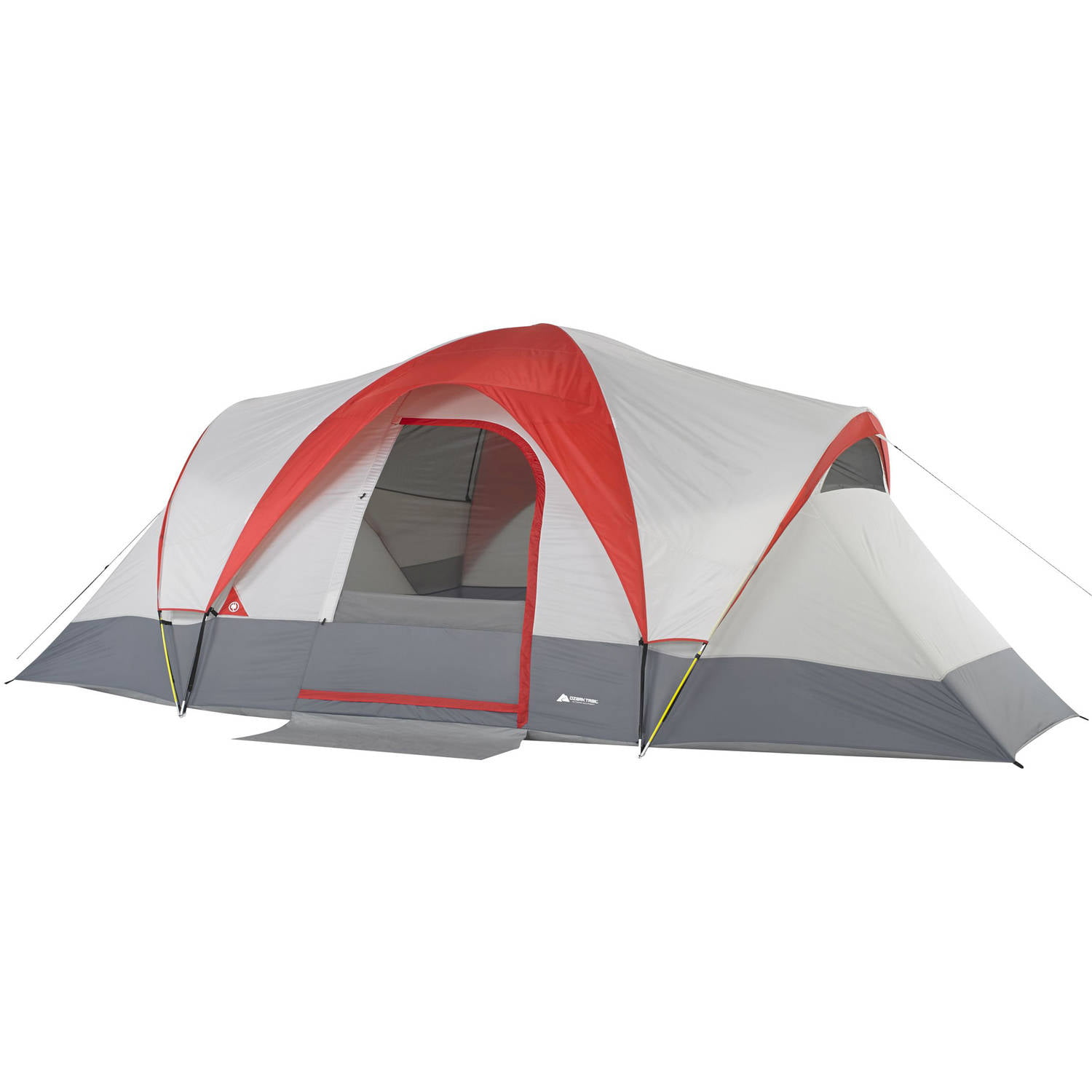 Ozark Trail Weatherbuster® 9-Person Dome Tent  sc 1 st  Walmart & Ozark Trail Weatherbuster 9 Person Dome Tent with Two Bonus Queen ...