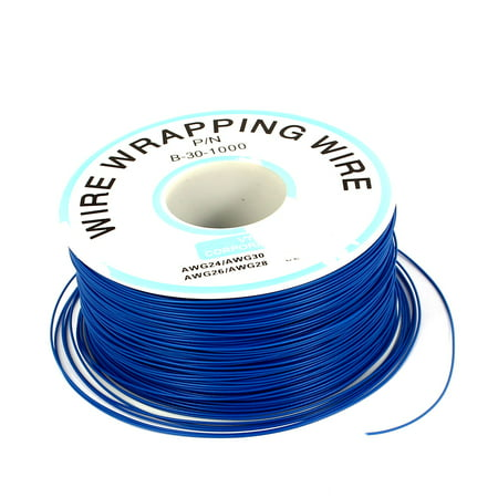 PCB Copper Core Jumper Wire Single Conductor Coil AWG30 820.2 Ft Length