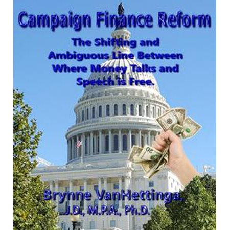 Campaign Finance Reform: The Shifting and Ambiguous Line Between Where Money Talks and Speech is Free - eBook](Money Talks Halloween)