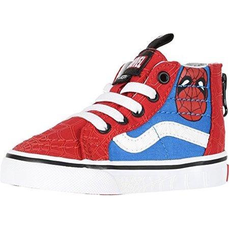 fdc446e93ca155 Vans - vans sk8-hi zip (marvel) spider-man true white vn0a32r3u4i todder  size 9 - Walmart.com