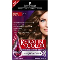 Schwarzkopf Keratin Color Anti-Age Hair Color Cream, 3.0 Espresso